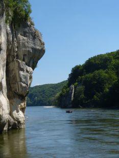 Gorges du Danube en Allemagne
