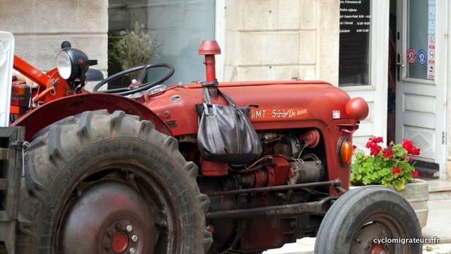 Le tracteur de Madame