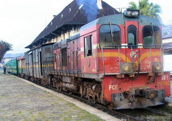 LE train malgache