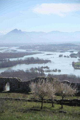 Depuis la forteresse de Shkodra