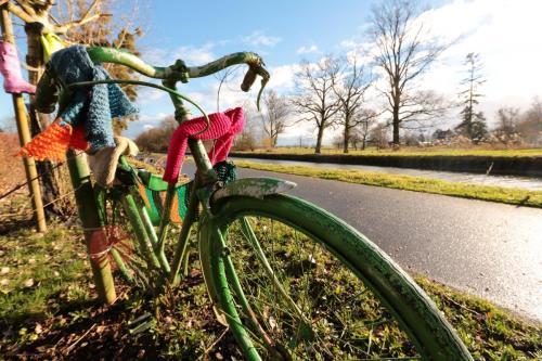 À vélo le long des canaux