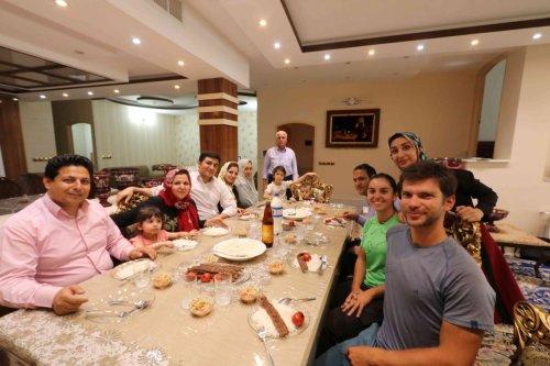 Chez Mahnaz et Muhammad