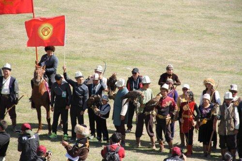 Délégation kirghize