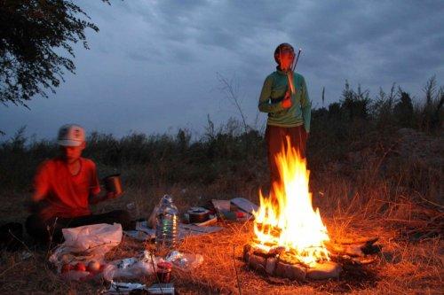 Dernier bivouac en Asie Centrale