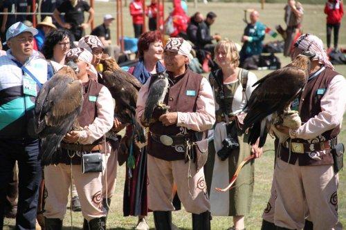 Fauconniers kazakhs