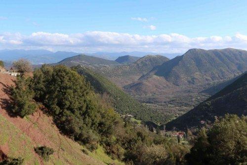 Montagnes du Péloponnèse