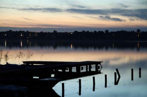 Nuit au bord du lac