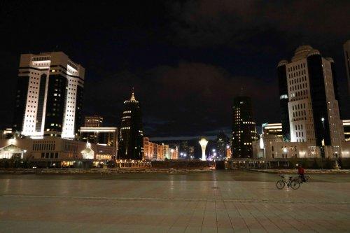 Perspective présidentielle, Astana
