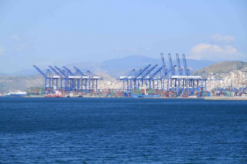 Port industriel du Pirée