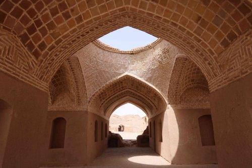 Ruines zoroastrienne