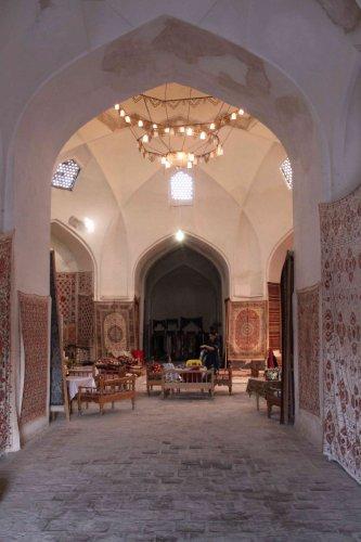 Tissus et tapis Boukhara