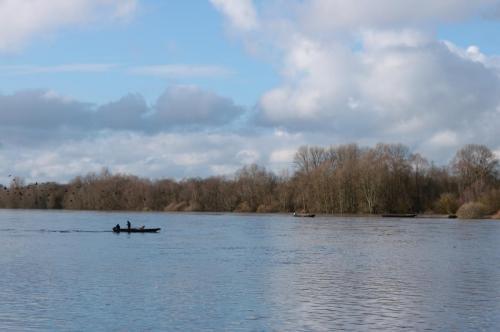 Un bateau sur la Loire