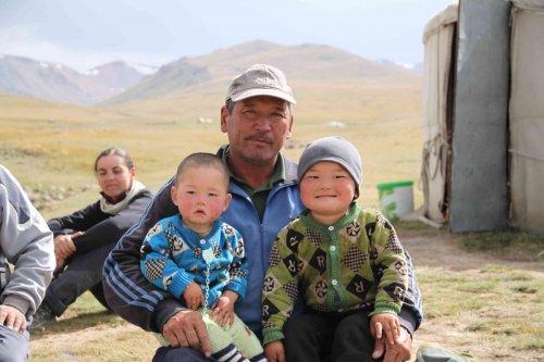 Urgench et ses petits enfants
