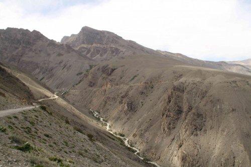 Vers Ie plateau du Pamir