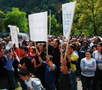 Protest in Caishi
