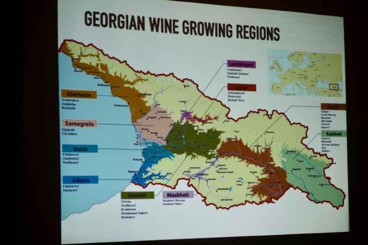 regioni del vino in Georgia