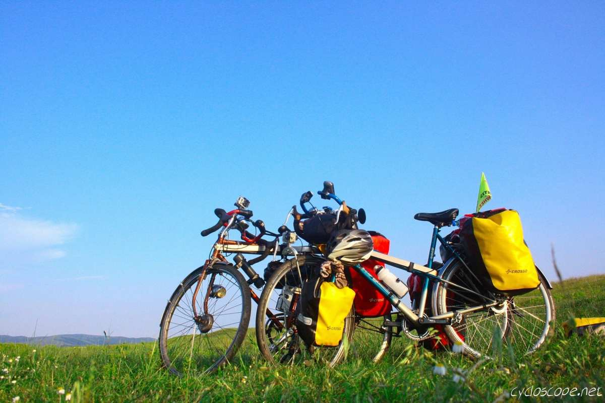Cycling towards the Danube