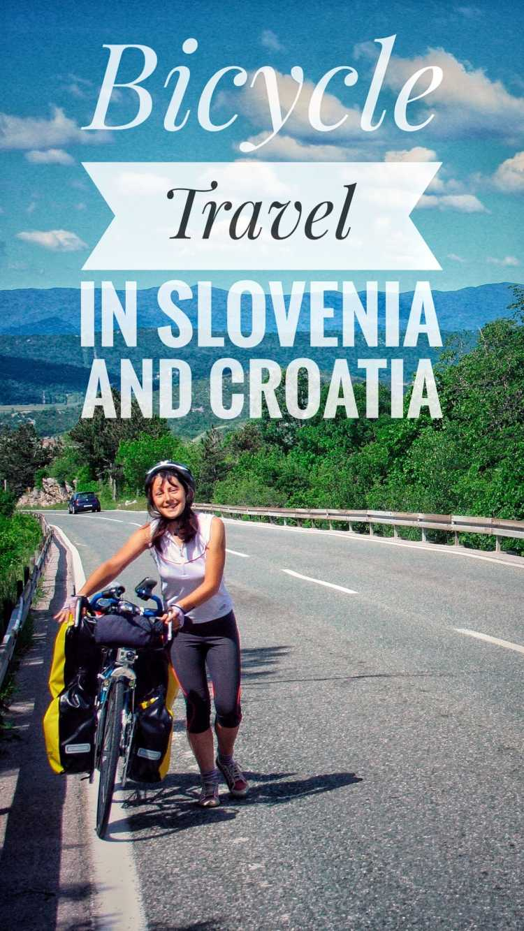 bicycle touring slovenia croatia