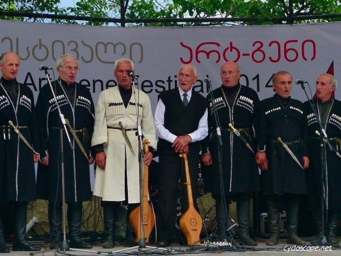 canzoni georgiane coro polifonico