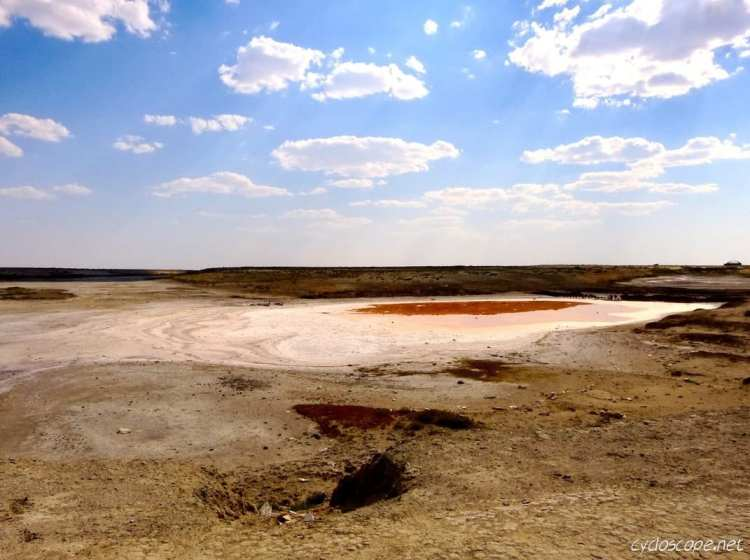 Aral sea from Arask