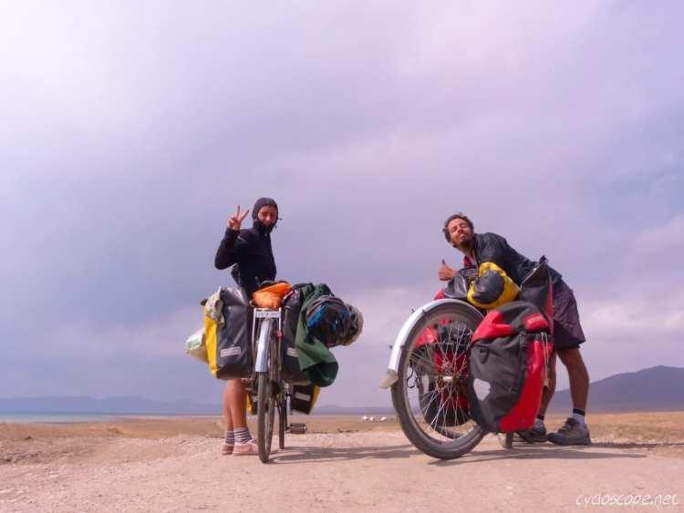 bicycle touring Song Kul