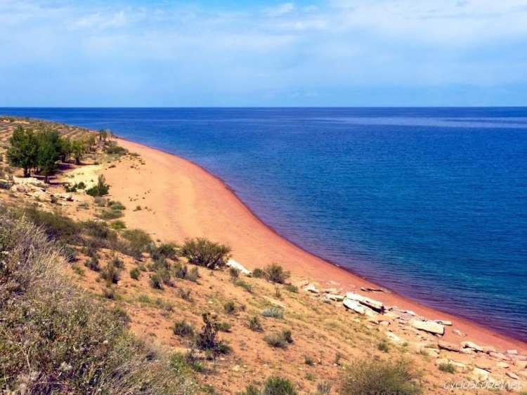 best beach issyk kul