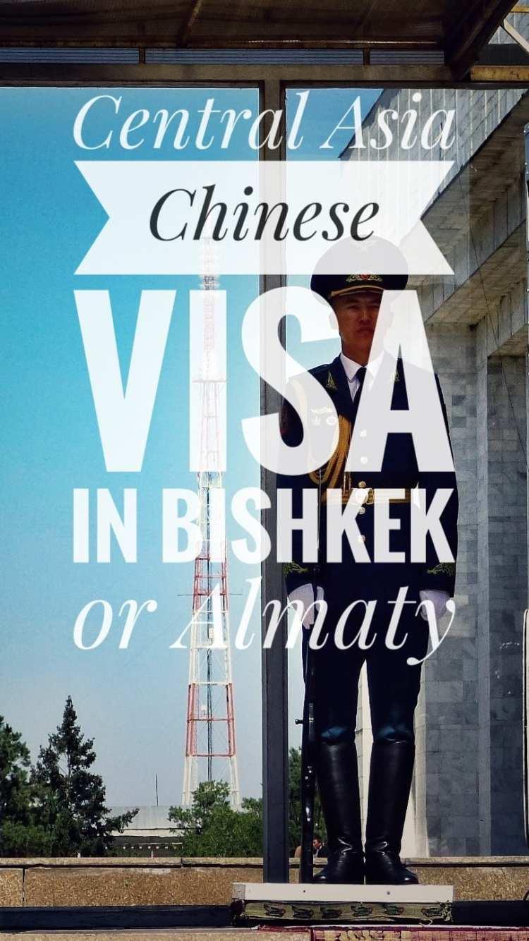 Chinese Visa Bishkek Almaty