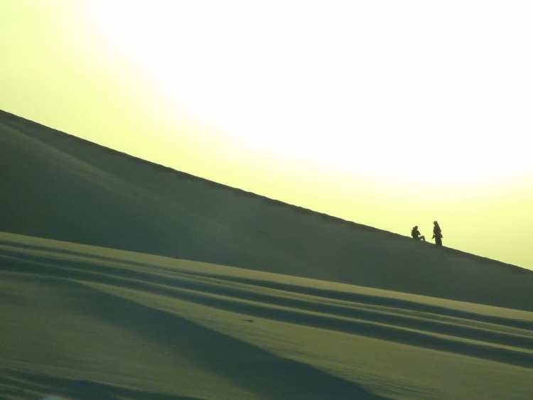 Dunhuang sand dunes for free
