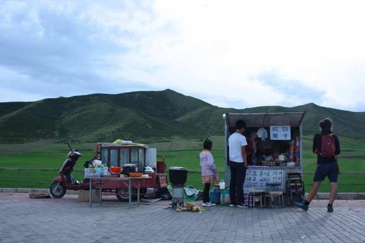 Tibetan, Qinghai, China, food