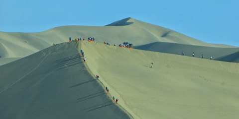 Dunhuang Sand Dunes China