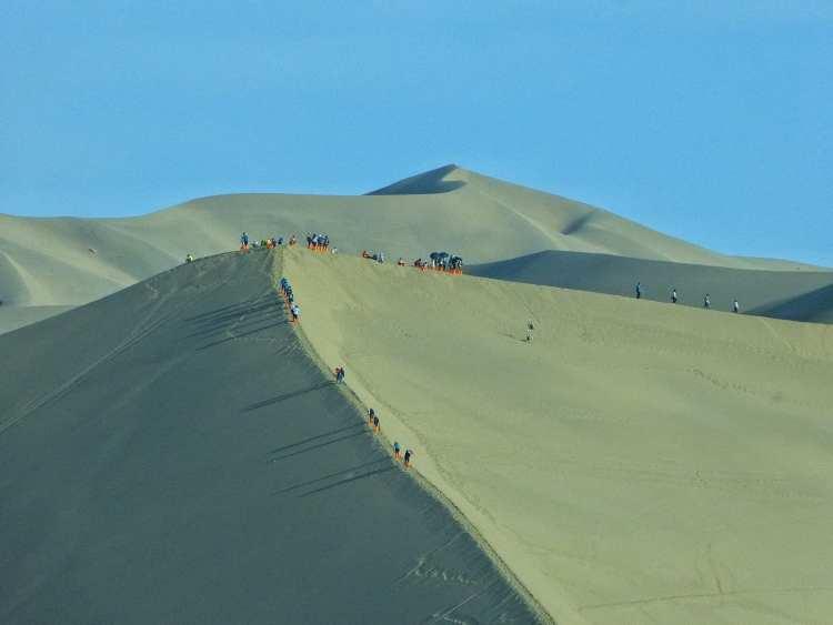 Dunhuang Dune di Sabbia Cina