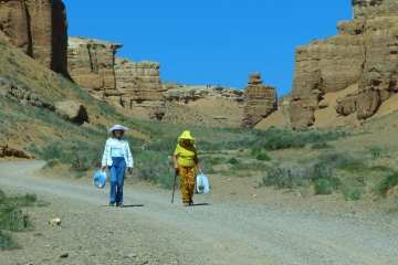 Kazakhstan: Not Just Steppe - Charyn Canyon and Esik Lake 20