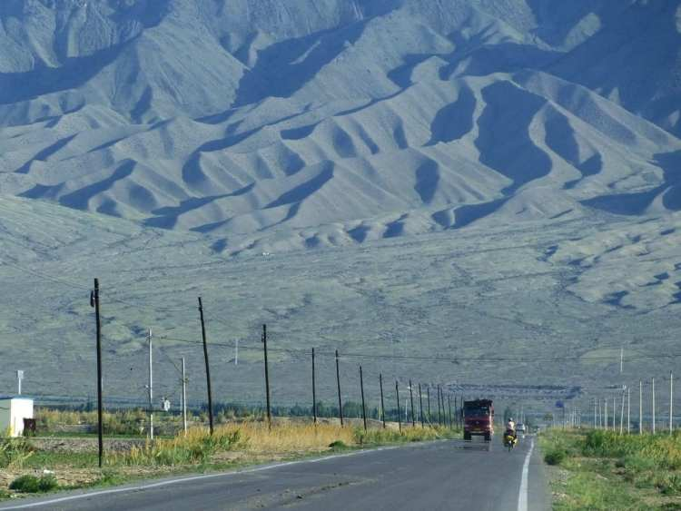 Xinjiang Bicycle touring Urumqi