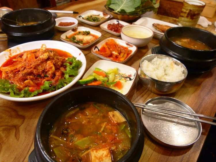 Korean food Suwon