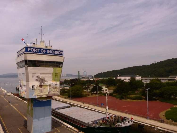 ferry korea bicycle