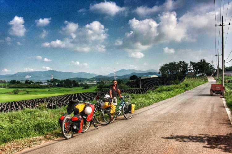 bicycle touring byeonsan