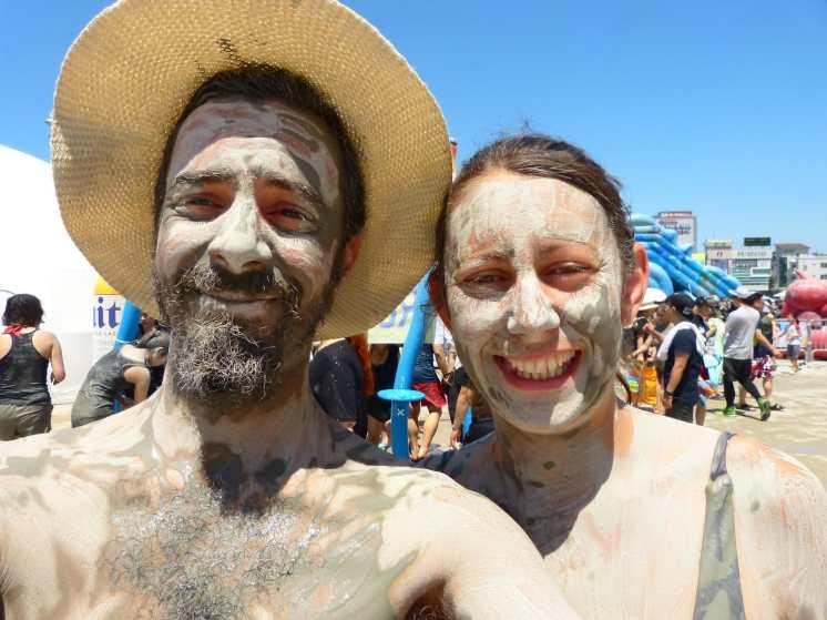 lets get muddy at Boryeong Mud Festival