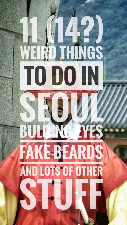 things to do seoul