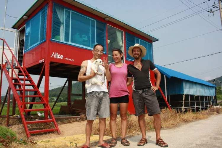 bicycle touring Jeollanam do