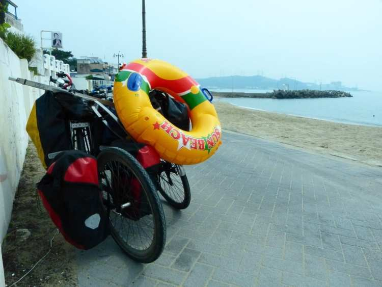 bicycle touring busan