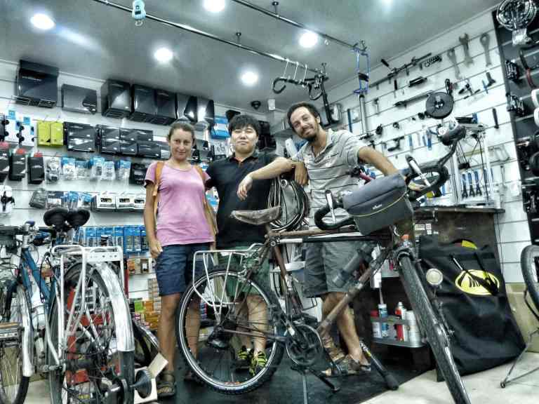 riparazioni accessori cicloturismo