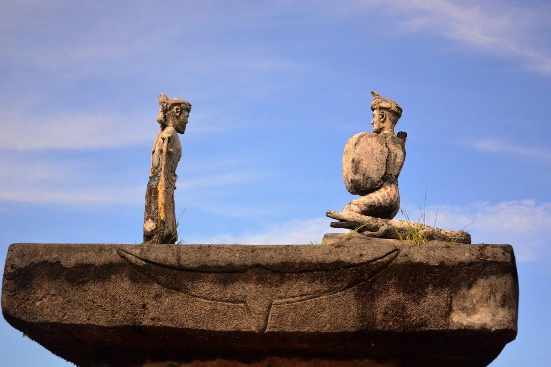 megalithic tomb Ratenggaro Sumba Indonesia