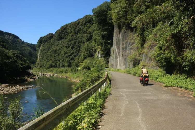 viaggio in bici Kyushu Giappone