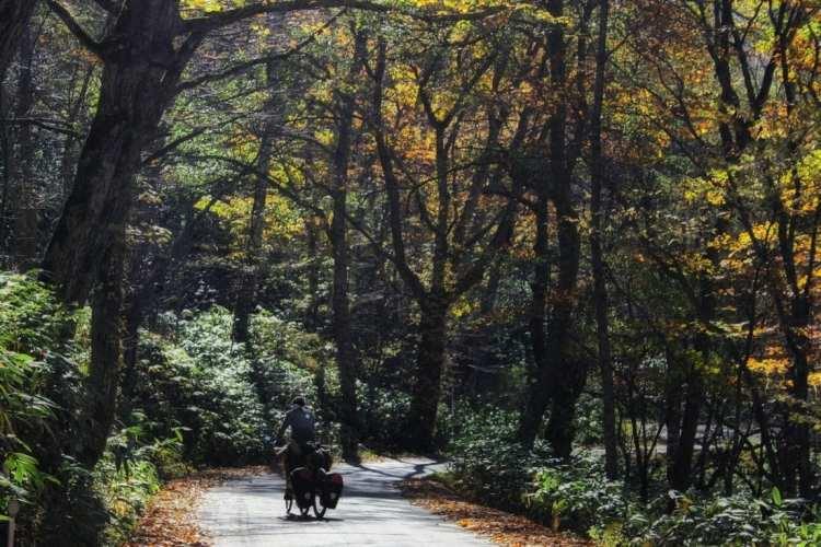 Viaggio in bicicletta in Giappone