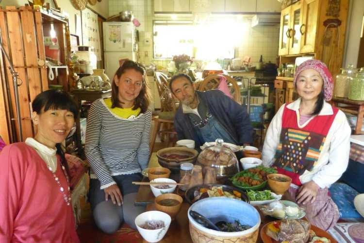 Giappone viaggio cibo fatto in casa