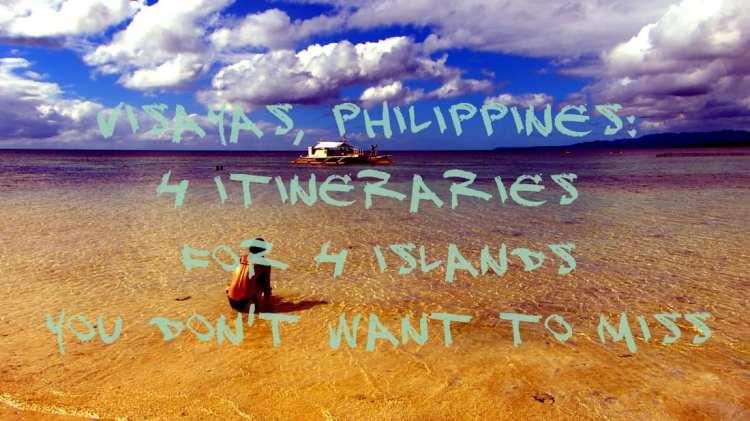 Visayas Itinerary