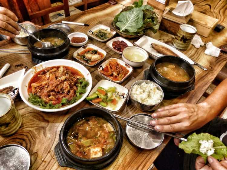 budget korean food