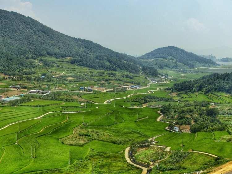 backpacking in Korea