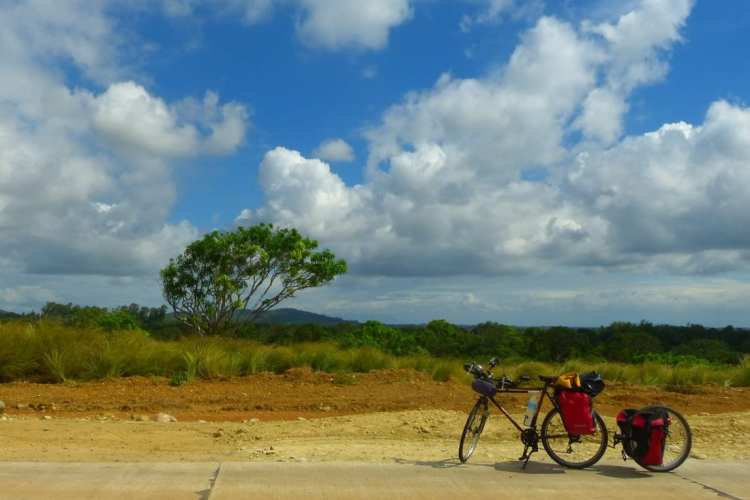 bicycle touring Guimaras Philippines