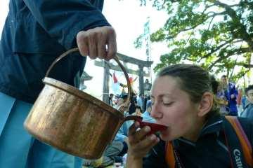 Alpi giapponesi: Doburoku Matsuri, saké in caduta libera dalle Alpi Giapponesi 47